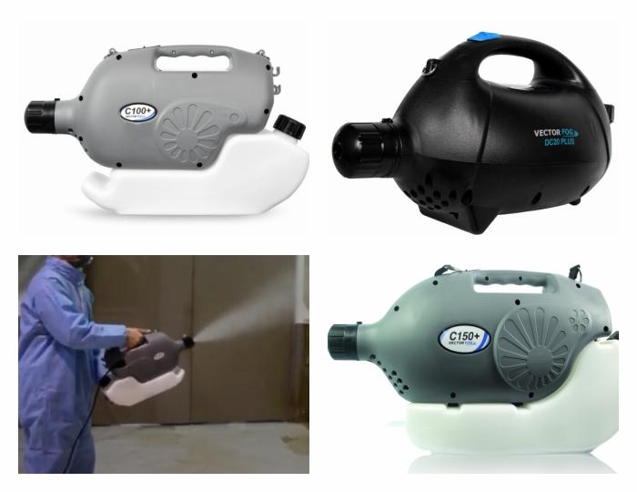 Fertőtlenítő permetezésre a leghatékonyabb eszközök a Vectorfog HIDEG KÖDKÉPZŐ készülékek
