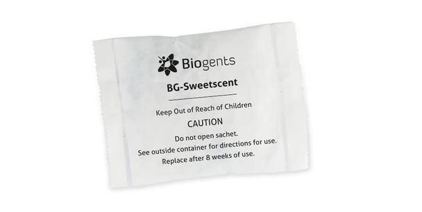 BG Sweetscent  (illatanyag adagoló BG-Mosquitaire CO2-hoz kültérre)