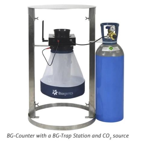 BG- szúnyogcsapda állomás a BG-Counterrel való használt szúnyogcsapdához1