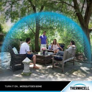 Thermacell szúnyogriasztó készülék - olivzöld23