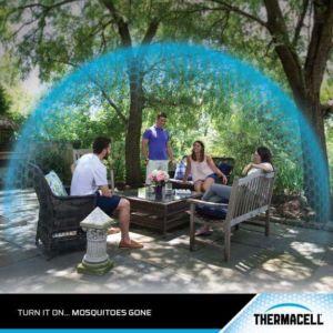 Thermacell szúnyogriasztó készülék - törésbiztos, erősített, gumis házzal46