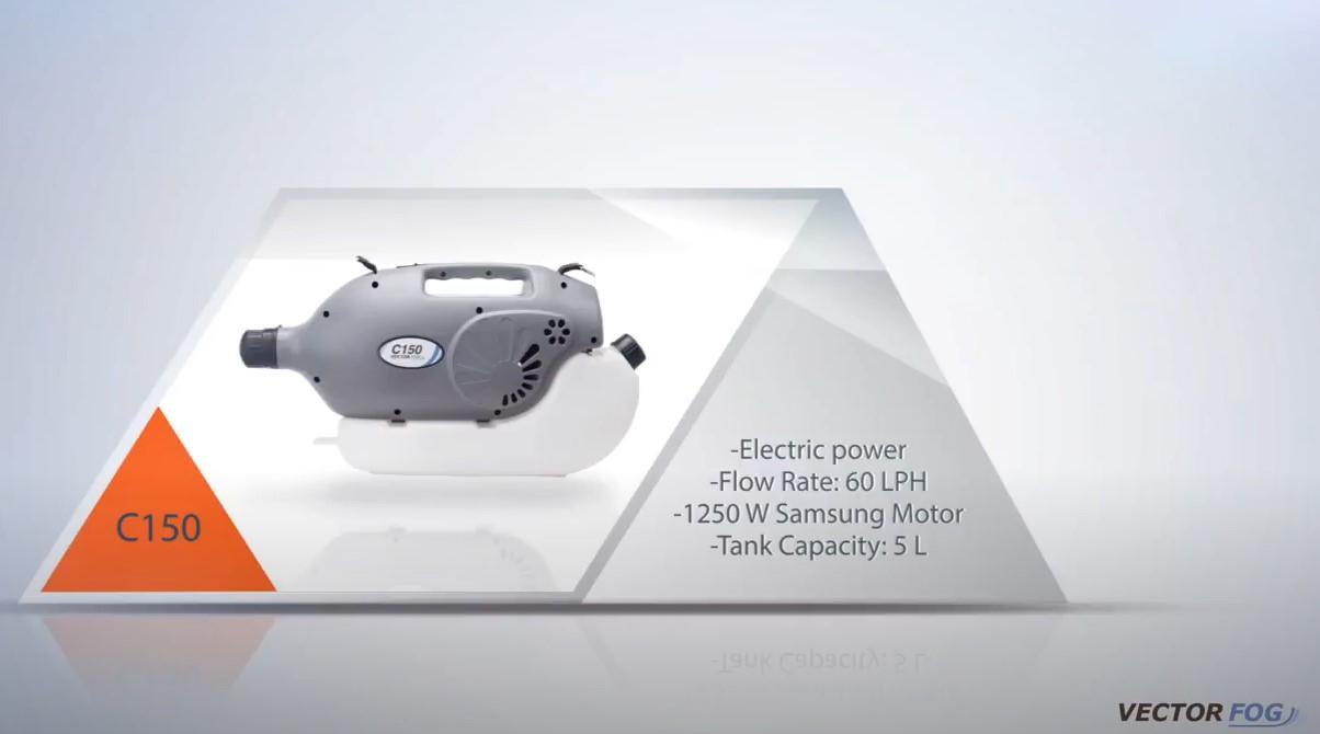 Vectorfog C150+  Hideg ködképző gép 6L tank, 1250W motor57